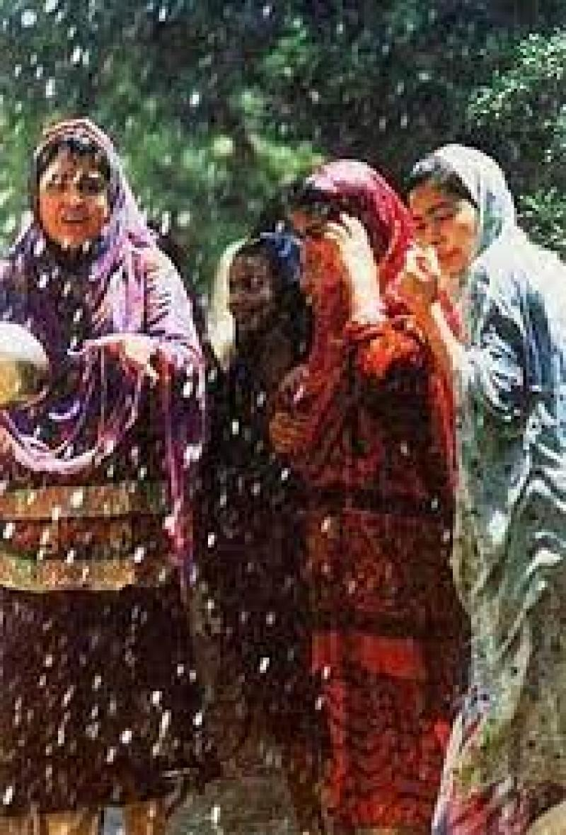 جشن آب پاشونک، جشن آغاز تابستان ایران تیر 1400