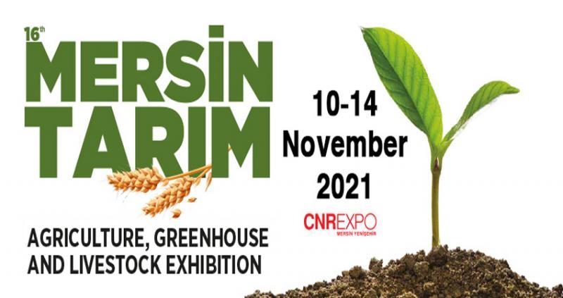 نمایشگاه کشاورزی ،گلخانه و دامداری مرسین ترکیه 2021
