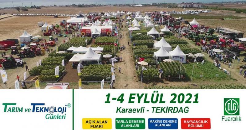 نمایشگاه بین المللی کشاورزی تکیرداغ ترکیه 2021