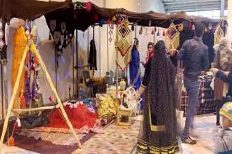 نمایشگاه اقوام ایرانی - سوغات و هدایا یزد 1400