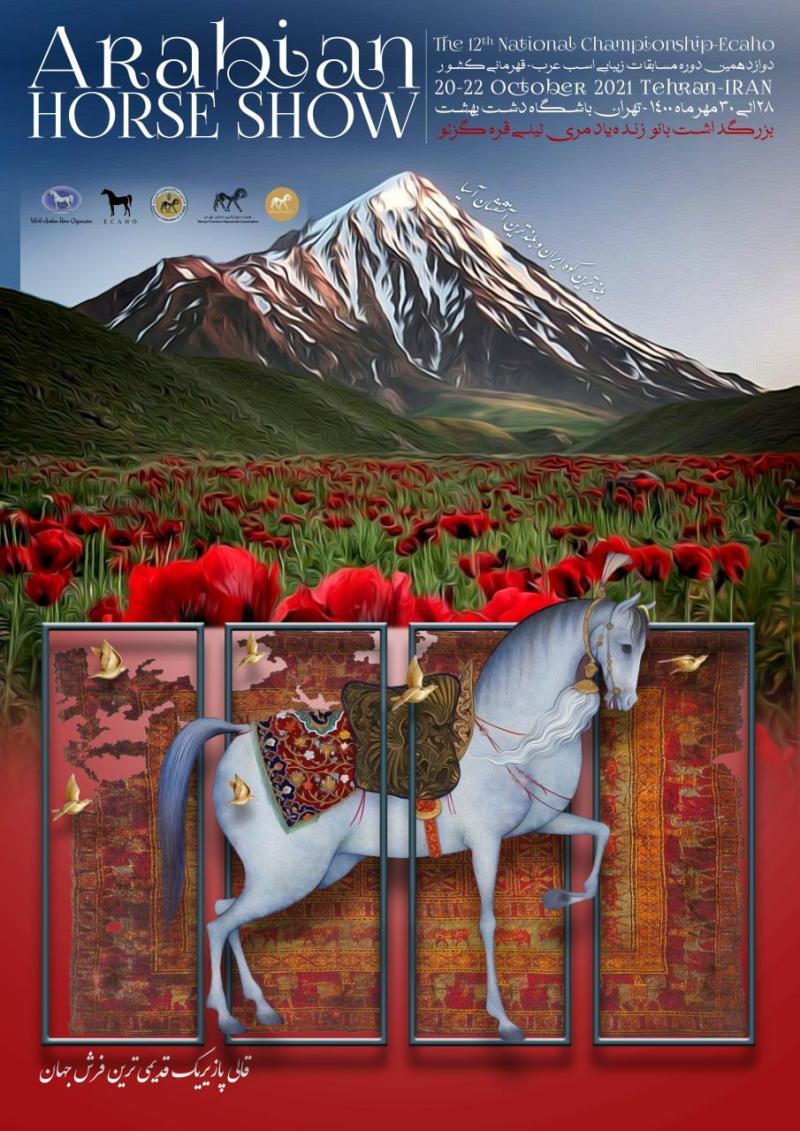 دوازدهمین دوره مسابقات زیبایی اسب عرب - قهرمانی کشور تهران  1400